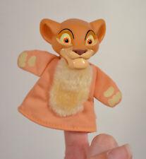 "3.75"" Young Simba Finger Puppet PVC Action Figure Disney Lion King Simba's Pride"