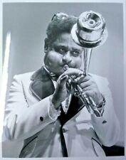 Original 9 x 7 silver gelatin photo of Jazz Trumpeter Dizzy Gillespie