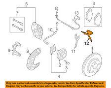 AUDI OEM 05-09 A4 Quattro-Brake System Hydraulic Line Right 4F0611722C
