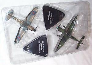 Dunkirk 1940 Hawker Hurricane & Junkers Stuka Aircraft 4909002 1:72 Scale Model