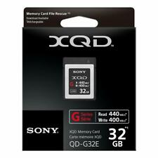 Sony XQD G Series 32gb Memory Card (QD-G32E)