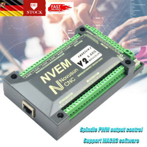 6Axis NVEM CNC Controller MACH3 Ethernet Schnittstelle Motion Control Card Board