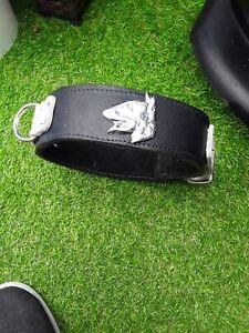 Bespoke Leather English Bulldog Collar