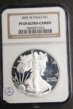 2002 W Eagle S$1. PF69 Ultra Cameo. 2