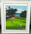 Mark King SPYGLASS HILL Signed Large Serigraph Golf Limited Edition  11/75