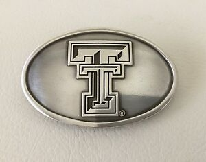 Texas Tech Belt Buckle Red Raiders Lubbock, TX