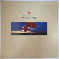 DEPECHE MODE MUSIC FOR THE MASSES LP MUTE UK 1987 + INSERT PRO CLEANED EX+ CON