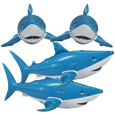 Jet Creations Inflatable Animals Shark 24 inch Long- Best for Party Pool Supp...