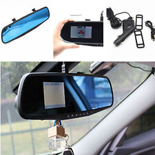 "Car 2.8"" HD Vehicle Rearview Mirror Traffic Recorder Video DVR 1080P Vision Cam"