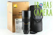 Nikon AF-S Nikkor 300mm F/4 D ED Lens With Box #27272