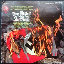 The Rise & Fall of the Third Reich cantate Opus LP Lalo Schifrin Laurence Harvey