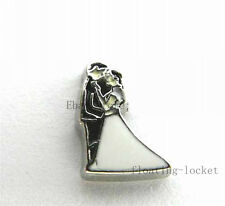 10pcs Wedding Floating charms For Glass living memory Locket FC1007
