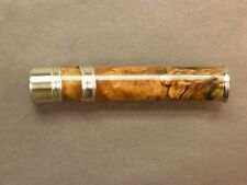 Fly Rod Reel Seat Spalted Maple 6009 Nickel Silver Cap and Ring