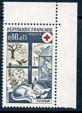 STAMP / TIMBRE FRANCE NEUF LUXE N° 1829a ** CROIX ROUGE L'HIVER  ISSUS DE CARNEt