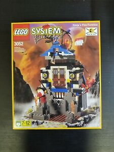 LEGO Set 3052 Ninjas Fire Fortress New Sealed Unopened Rare see pics