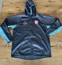 Gloucester Rugby Player Issue Hoodie Ed Slater Size 3xl