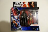 "Darth Vader Ahsoka Tano / Star Wars Rebels 2-Pack NEW BNIB 3.75"" MIB limited edi"