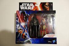 """Darth Vader Ahsoka Tano/Star Wars Rebeldes 2-Pack Nuevo Nuevo Y En Caja 3.75"""""""