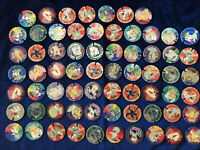(079) Lot 67 Pog BN Trocs Volant The Mask # Pogs Cap Caps Tazo