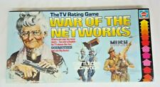 Vtg 1979 Hasbro WAR OF THE NETWORKS The TV Ratings Game Gameboard 100% COMPLETE