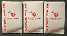 "Brand New ""3"" Safetymind Wireless 8839-433 Remote Keyfob Compatible DSC WS4939"
