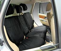 Range Rover Sport L494 Rear Land Inka Tailored Waterproof Seat Covers Black