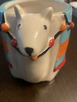 New The Critter Collection Ceramic Llama / Alpaca Mug