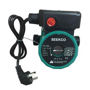 3 Speed Circulation Booster Pump Solar Hot Water Circulator Pump 65L/min AC220V