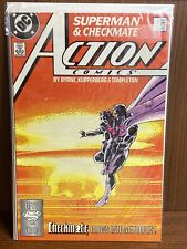 Dc Comics Action Comics #598 Superman First Appearance of Checkmate (1988)
