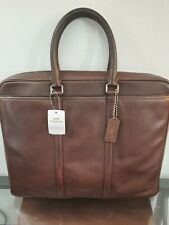 Coach Metropolitan Briefcase laptop bag QB/Mahogany