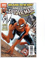 AMAZING SPIDER-MAN #546  SIGNED EDITION  Dan Slott     VFNM