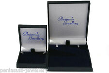 9ct Gold CZ LeverBack Earrings Gift Boxed Made in UK