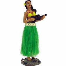 2 X Hula Girl Doll Dashboard Wobble Ornement VW Beetle Camper veille de Noel