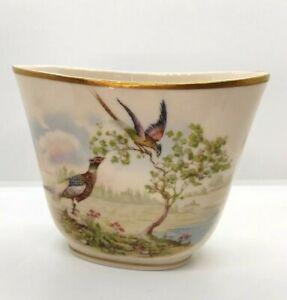 Vintage Rochelle Fine China handpainted vase