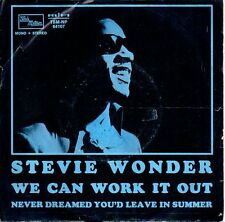 45 giri- Stevie Wonder -We can work it out  SC2... disco campione