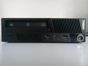 Lenovo ThinkCentre M91 Mini PC Core i3 /G630 extrem leise mit DVD-RW DP Lesen!!!