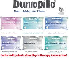 Dunlopillo Luxurious Talalay Latex Soft| Classic Medium| High Firm| Dual Pillows