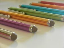Wholesale Lot - Ten 10 x Fiber Tip Metal Stylus Pen Universal iPhone iPad Galaxy