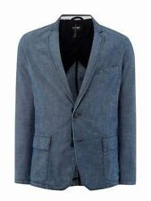 Hip Length Collared Regular ARMANI Coats & Jackets for Men