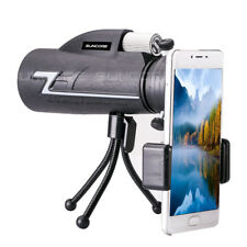 Suncore Zoomable 16X50 HD BAk4 FMC Optics Monocular telescope&phone clip&Tripod