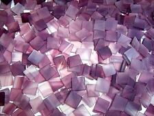 "100 1/2"" Raspberry Swirl Tumbled Stained Glass Mosaic Tiles"