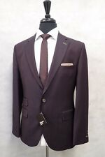 Men's Gibson Slim Fit Suit 48R W40 L33 JB744