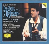 Jacques Offenbach Les Contes d'Hoffman Tales of CD NEW Placido Domingo Gruberova