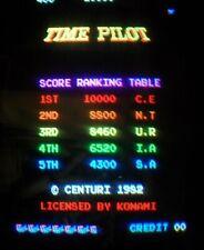 TIME PILOT - Konami Arcade - LOGIC PCB BOARD - Working 100% - not Jamma