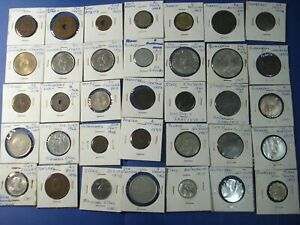 Deceased Estate Coins Lot # 8 World Coins in cards