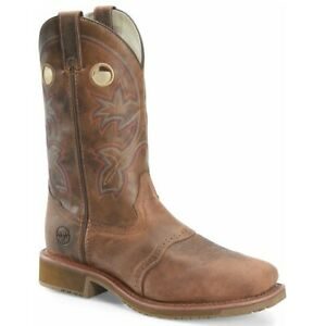 Double-H Men's Antonio Brown Square Composite Toe Work Boots DH6134
