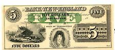 The Bank Of New England At Goodspeed's Landing $5 Lot 2