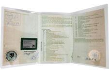 KFZ Fahrzeugschein Hülle 3-teilig Schutzhülle Etui Transparent Durchsichtig Klar