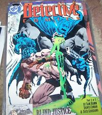 DETECTIVE COMICS  # 599 BATMAN  blind justice 2 DC   PRE NEW 52 +REBIRTH