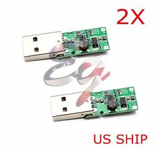 2X DC-DC USB 5V to 12V Fixed Output Step Up Boost Power Supply Module US